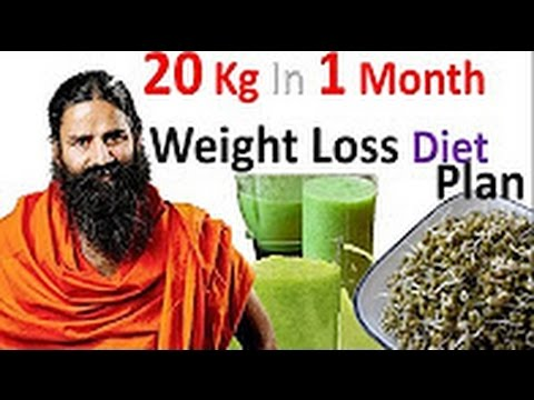 Baba Ramdev Tips For 20 Kg 1 Month Weight Loss Diet Plan ...